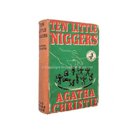 Ten Little Niggers Agatha Christie First Edition The Crime Club Collins 1939